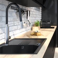 Cuisine Equipee Moderne Design Sur Mesure Oskab