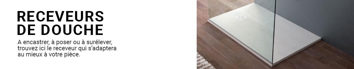 receveur bac douche extra plat encastrer a poser oskab. Black Bedroom Furniture Sets. Home Design Ideas