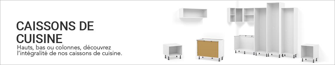 Caisson de cuisine bas colonne angle haut oskab for Caisson meuble cuisine sans porte