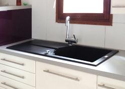 l 39 installation d 39 un vier encastrer. Black Bedroom Furniture Sets. Home Design Ideas