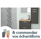 Inspirez-vous & commandez vos échantillons salle de bains gratuits !