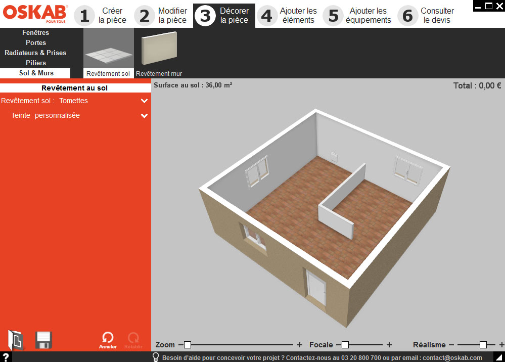 Logiciel design cuisine gratuit avec des id es int ressantes p - Logiciel pour creer une piece en 3d ...
