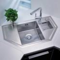 L'emplacement de votre évier dans la cuisine