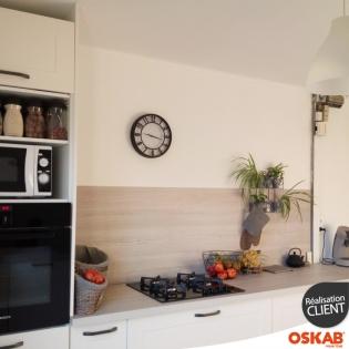 Cuisine scandinave en l oskab for Cuisine 3d oskab