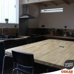 partage de photos de r alisations d 39 avis clients oskab. Black Bedroom Furniture Sets. Home Design Ideas