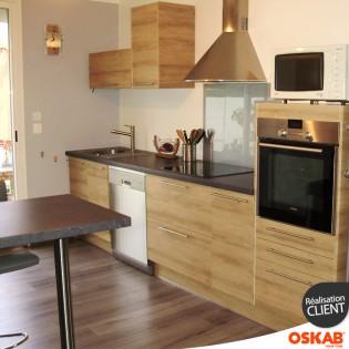 en 2015 le bois s 39 invite dans la cuisine. Black Bedroom Furniture Sets. Home Design Ideas
